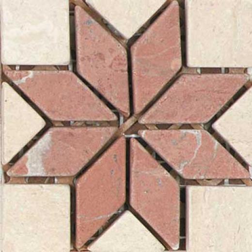 Tesoro Savona Insert Rosso Tile & Stone
