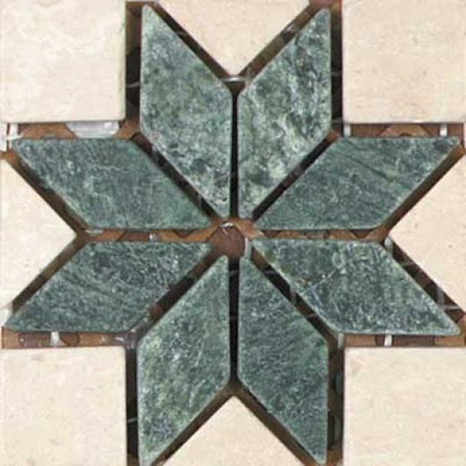 Tesoro Savona Insert Verde Tile & Stone