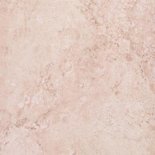 Tesoro Travertino Fiorito 6 X 6 Ivory Tile & Stone