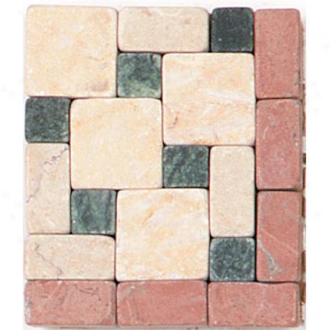 Tesoro Venezia Listello Rosso Corner Tile & Stone