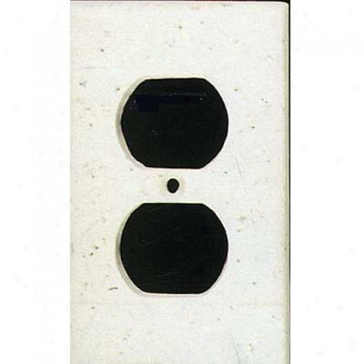 Tilecrest Fajxstone Resin Switch Plates Receptacle Plate Pure Tile & Stone