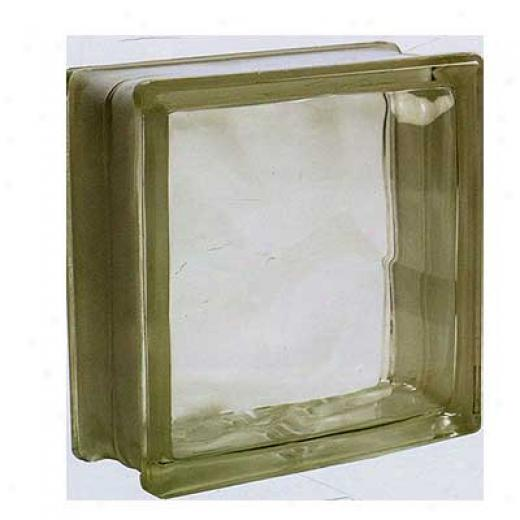Tilecrest Glass Block 7 1/2 X 7 1/2 Cloud Double Fragment Block Tile & Stone