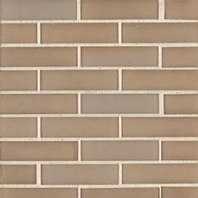 Tilecrest Madelyn Glass Mosaics Cielo Brick Mustard Tile & Stone