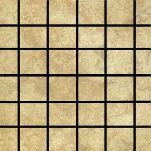 Tilecrest Mountain Mosaic 2 X 2 Taupe Mosaic Tile & Stone