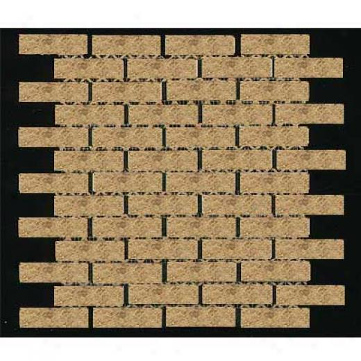 Tilecrest Sabrina Brick Mosaic Walnut Tile & Stone