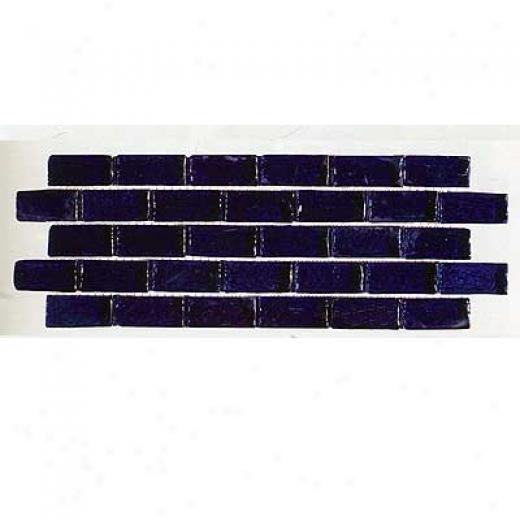 Tilecrest Transparent Series Mosaic Cobalt Blue Tile & Stone