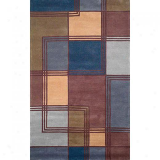 Trans-ocean Import Co. Amalfi 2 X 3 Modern Blue Area Rugs