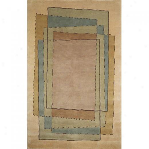 Trans-ocean Import Co. Bhutan 8 X 8 Square Deco Neutral Area Rugs