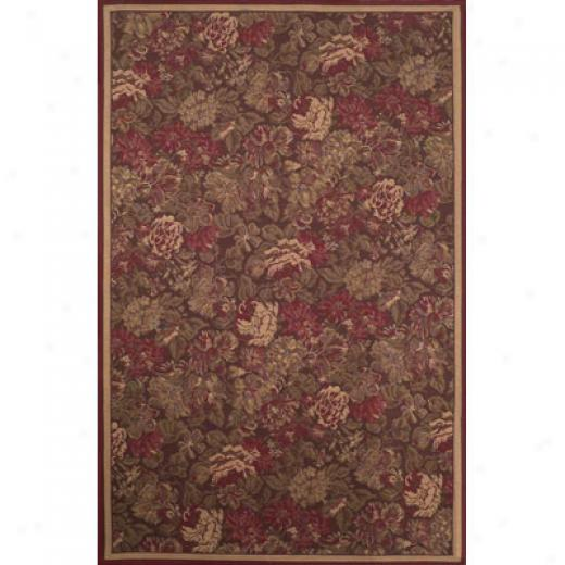 Trans-ocean Import Co. Capri 2 X 7 Tapestry Red Area Rugs
