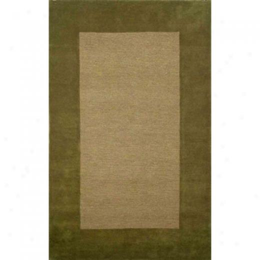 Trans-ocean Import Co. Lago 9 X 12 Border Sage Area Rugs