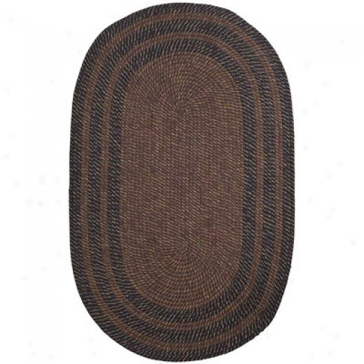 Trans-ocean Import Co. Lenox 2 X 3 Stripe Brown Yard Rugs