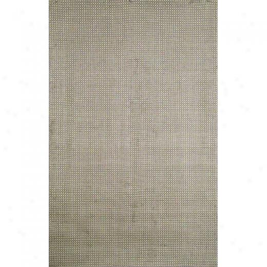 Trans-ocean Ikport Co. Matera 2 X 3 Hounds Tooth Silver Area Rugs