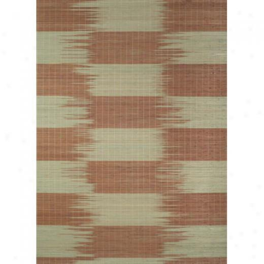 Trans-ocean Import Co. Saannah 8 X 11 Squares Green Area Rugs