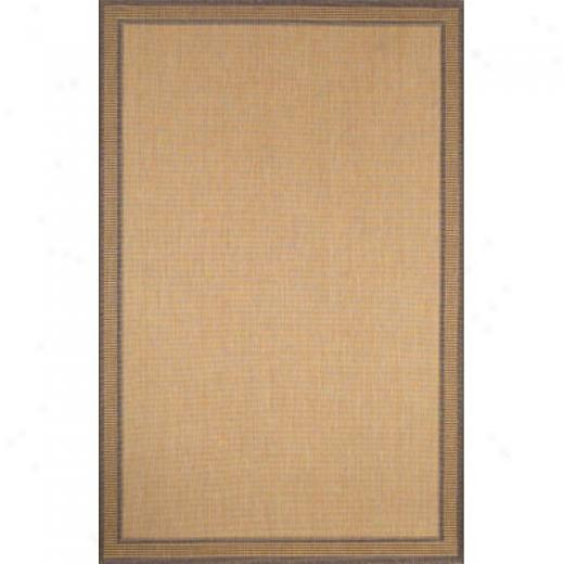 Trans-ocean Import Co. Terrace 2 X 7 Runner Zebrq Brown Area Rugs