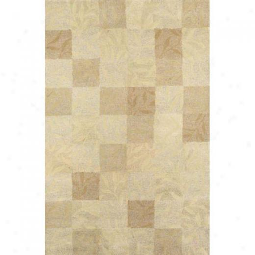 Trans-ocean Import Co. Umbria 9 X 12 Boxed Vines Cream Area Rugs