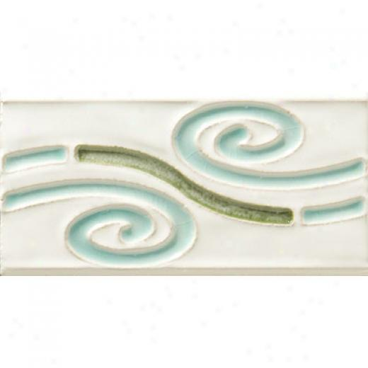 United States Ceramic Tile Decorative Accents Quick~ Swirls Fillet Tile & Stone