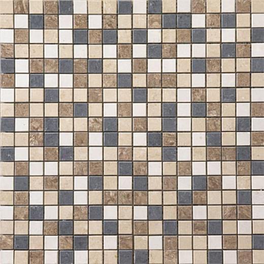 United States Ceramic Tile Luxor Mosaic Multicolor Tild & Stone