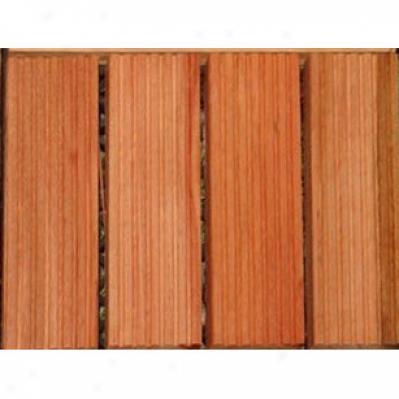 Vifah Snapping Deck Tiles (4 Slat) Eucalyptus Hardwood Flooring