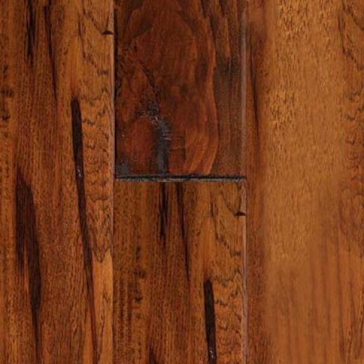 Virginia Vintage Handscraped Solids Sorghum Hickory Hardwood Flooring