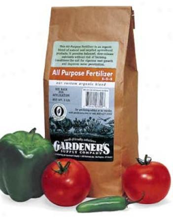 All-purpose Fertilizer, 25 Lbs.