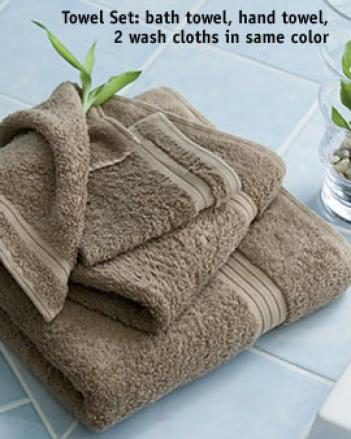 Bamnoo Towel Set