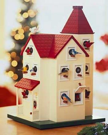 Birdhouse Advent Calendar