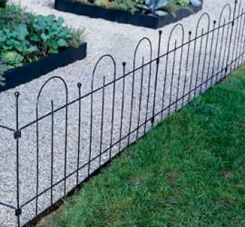 Border Fence Panels, Set Of 2