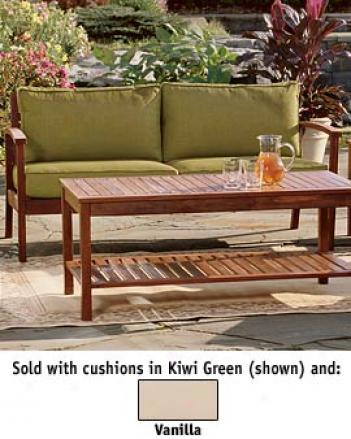 Champlain Loveseat, Kiwi Green