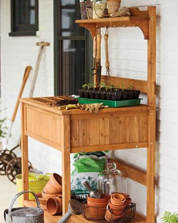 Cladsic Potting Bench
