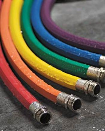 Colorful Caoutchouc Hose