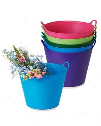 Cllorful Tubtrug, 7 Gallon