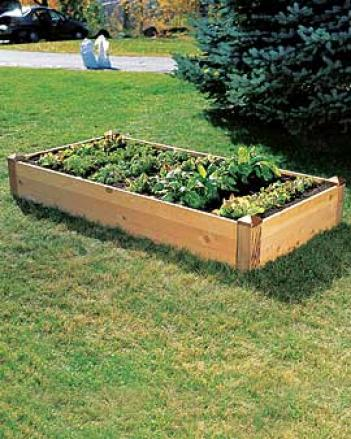 Copper Cap Raised Bed, 3' X 6'