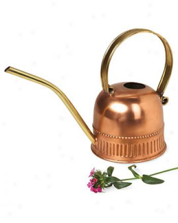 Copper-plated Watering Can