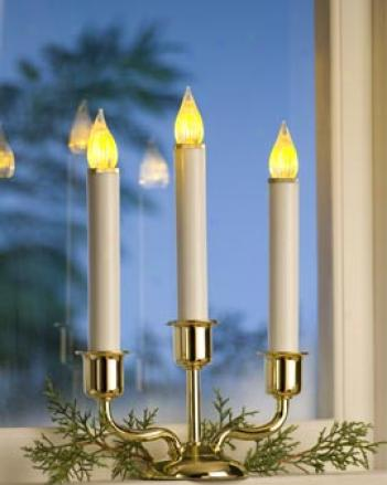 Cordless Window Candelabra