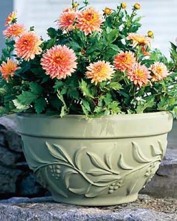 Coronet Bowl Planter