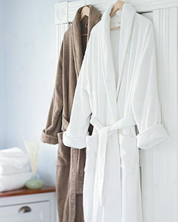 Cotton/bamboo Robe