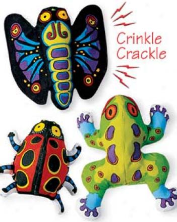 Crackler Toys, Set Of 3