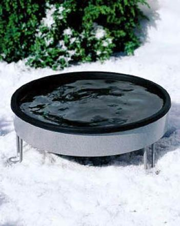 Deck-mount Heated Birdbath