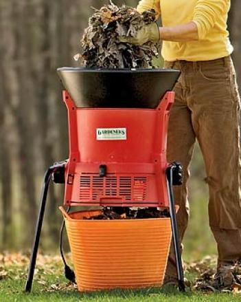 Deluxe Electric Leaf Shredder