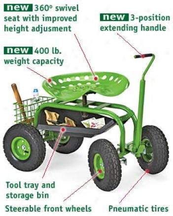Deluxe Tractor Scoot