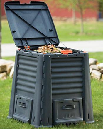 Easy-open Composter