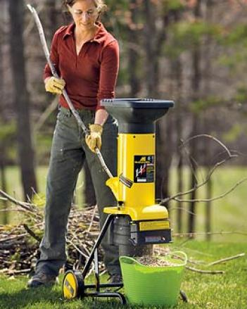 Electric Gardwn Chipper