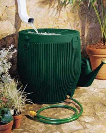 English Rain Barrel
