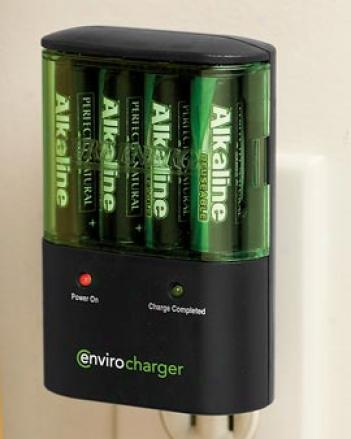 Envirocharger With Batteries