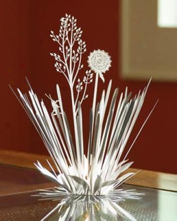 Field Bouquet Tea Light Holder