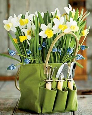 Flowering Tote Bag Cachepot