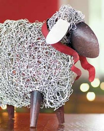 Folk Art Sheep