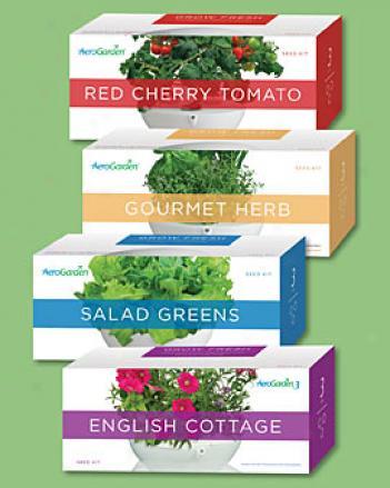 Gourmet Herb, 3 Pod Seed Kit