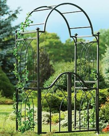 Greenwood Park Arbor And Gate Set