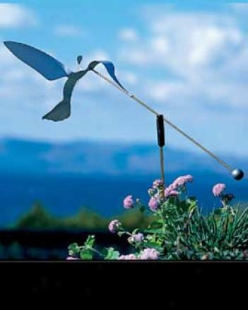 Hummingbird Wind Sculpture